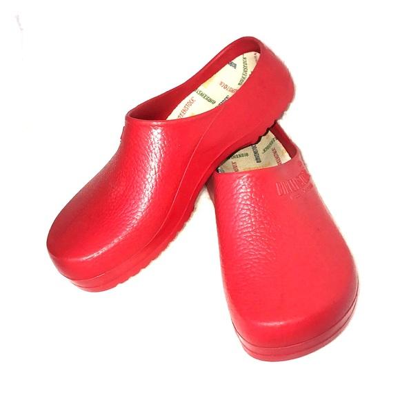 Birkenstock Other - Birkenstock Professional Birki Red Clogs 5181096afba